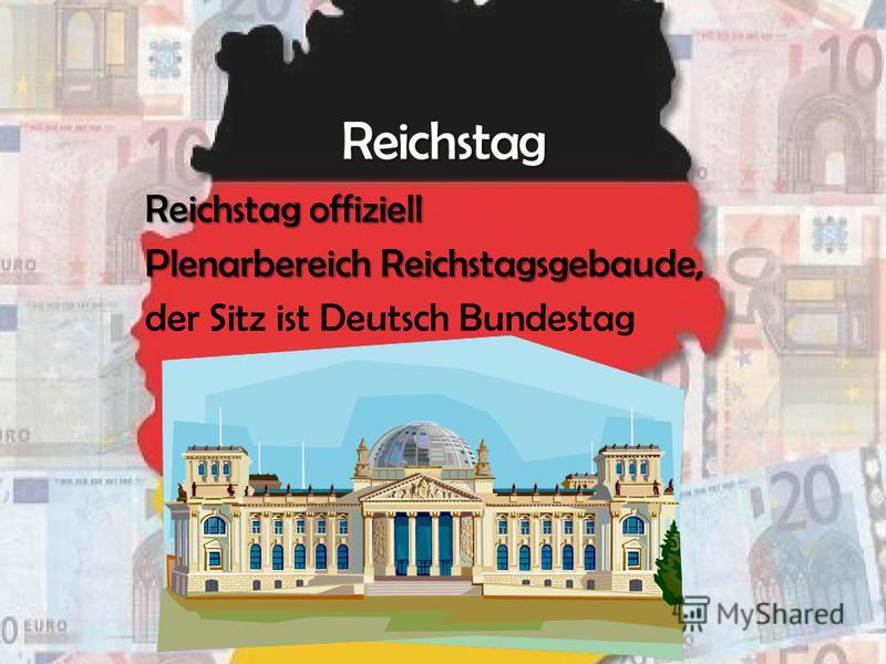 Reichstag offiziell Plenarbereich Reichstagsgebaude, der Sitz ist Deutsch Bundestag