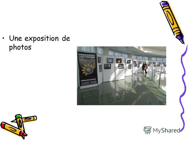 Une exposition de photos