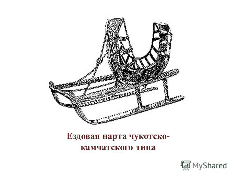Ездовая нарта чукотско- камчатского типа