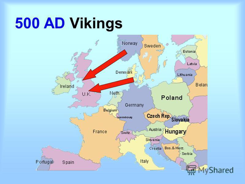 500 AD Vikings