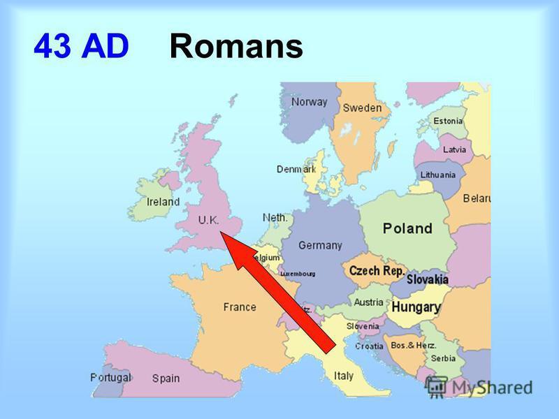 43 AD Romans