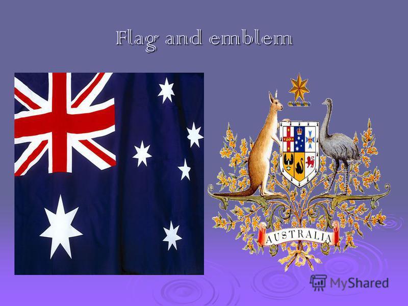 Flag and emblem