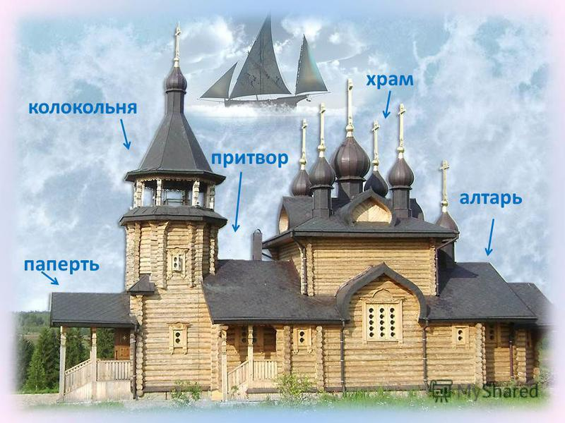 Храм – корабль, плывущий к Богу.