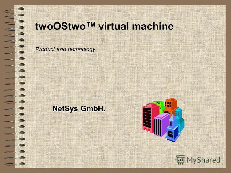 twoOStwo virtual machine NetSys GmbH. Product and technology