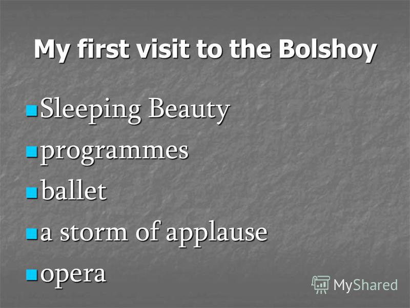 My first visit to the Bolshoy Sleeping Beauty Sleeping Beauty programmes programmes ballet ballet a storm of applause a storm of applause opera opera