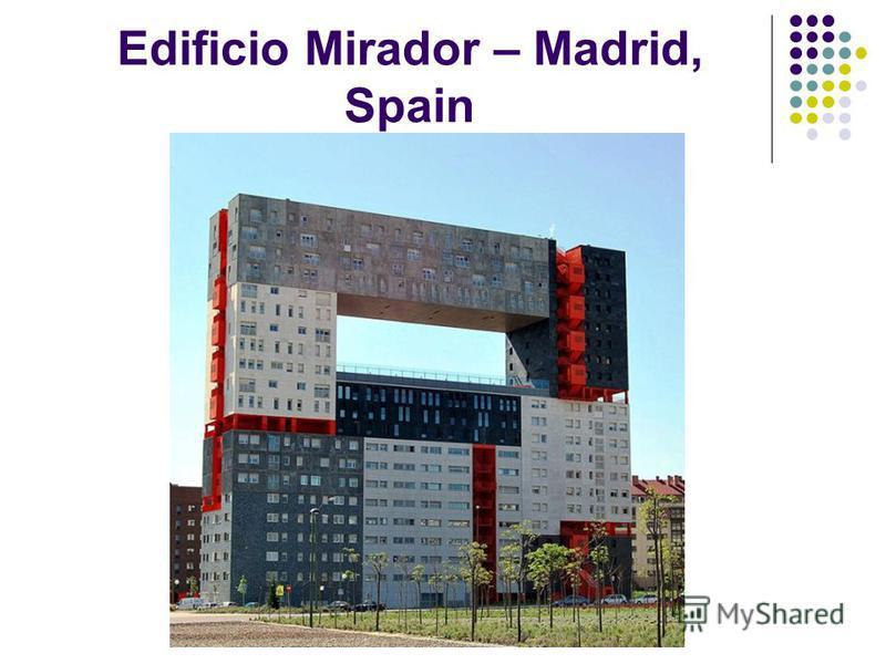 Edificio Mirador – Madrid, Spain