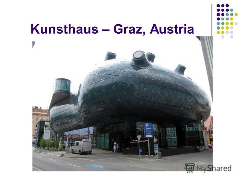 Kunsthaus – Graz, Austria