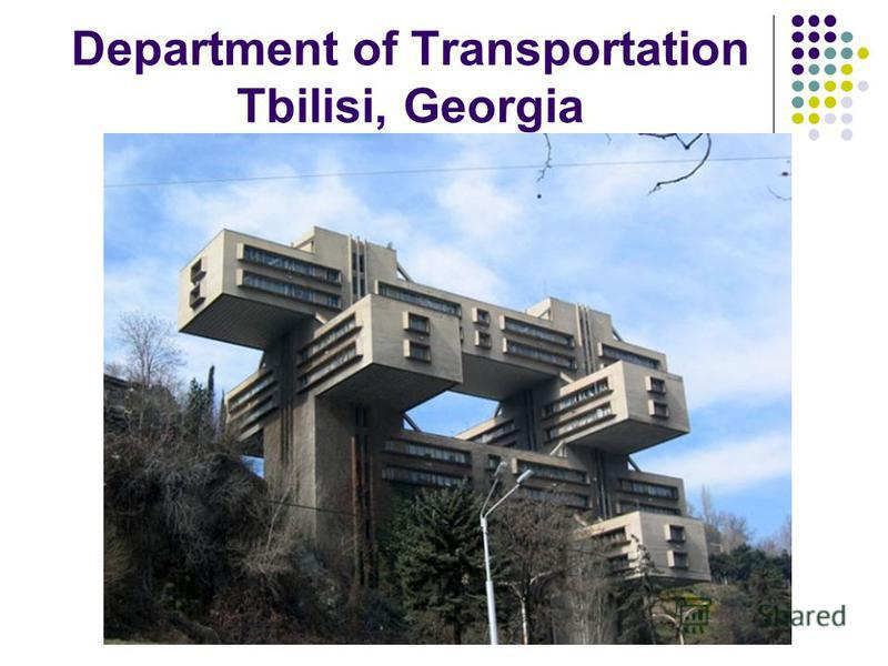 Department of Transportation Tbilisi, Georgia