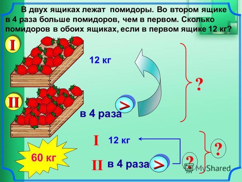 Точка С лежит на отрезке АВ. Найдите длину отрезка АВ, если АС = 8 см, а длина отрезка СВ в 3 раза больше длины отрезка АС. А ВС >> в 3 раза АC = 8 см СВ = >> в 3 раза ? ? АВ 8 см 32 см