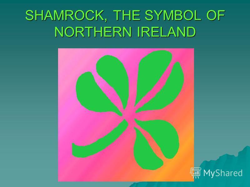 SHAMROCK, THE SYMBOL OF NORTHERN IRELAND