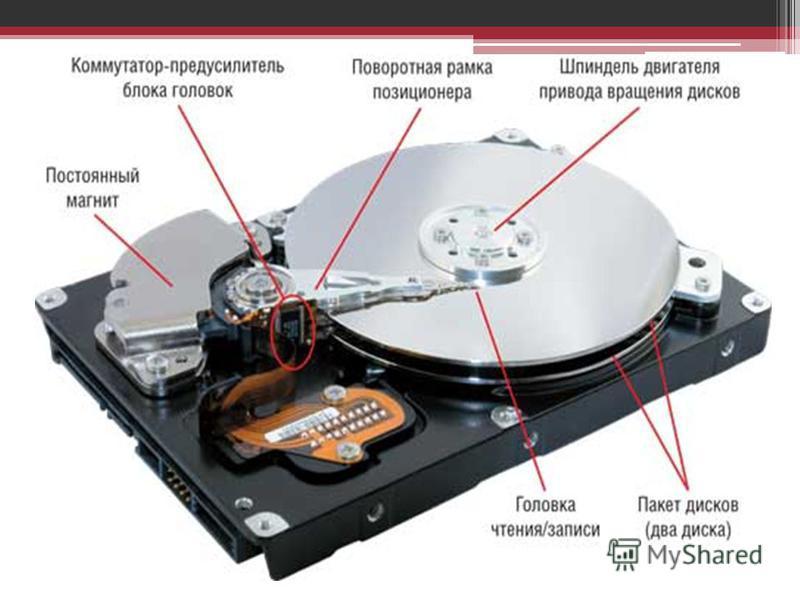 Доклад на тему жесткий диск по информатике 9559