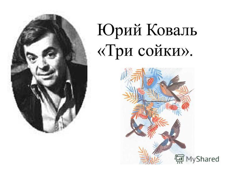Юрий Коваль «Три сойки».
