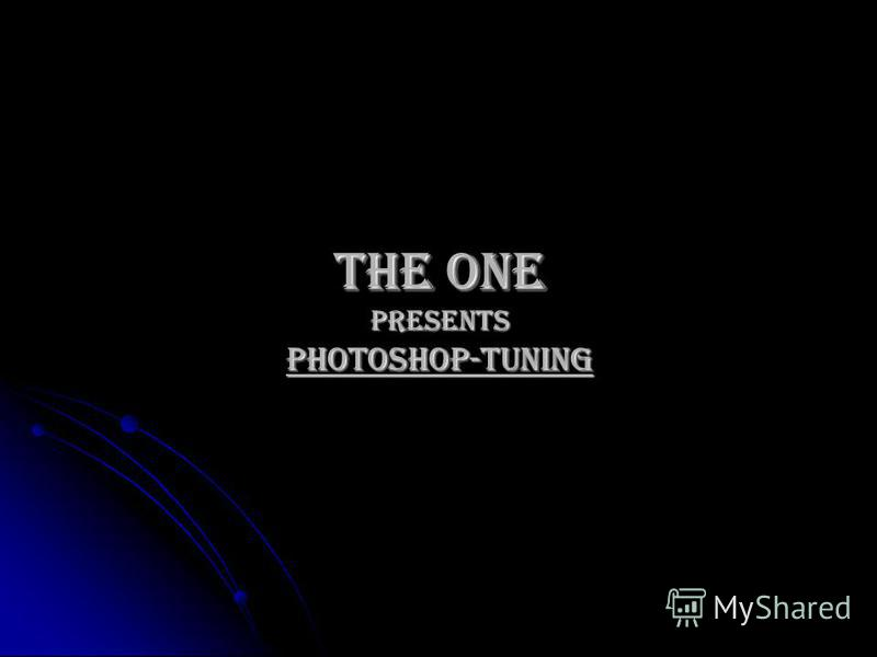 The One Presents Photoshop-Tuning