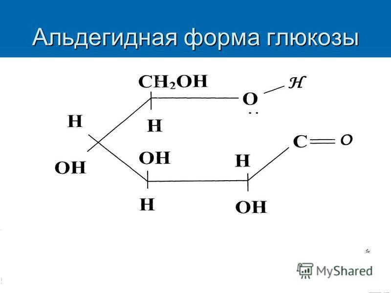 Альдегидная форма глюкозы