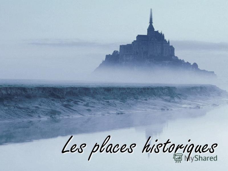 Les places historiques