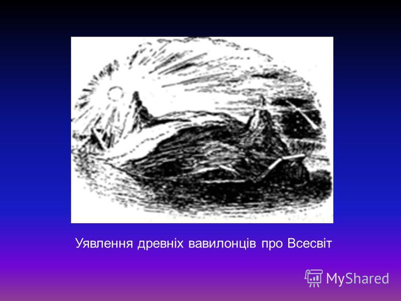 Уявлення древніх вавилонців про Всесвіт