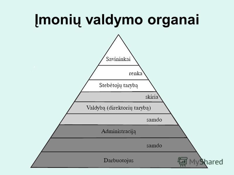 Įmonių valdymo organai