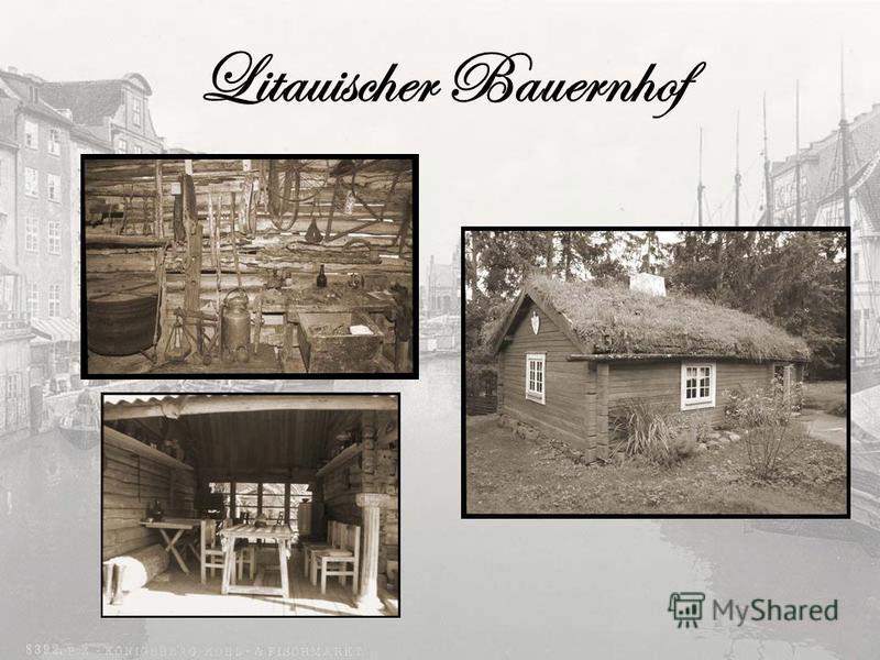 Litauischer Bauernhof