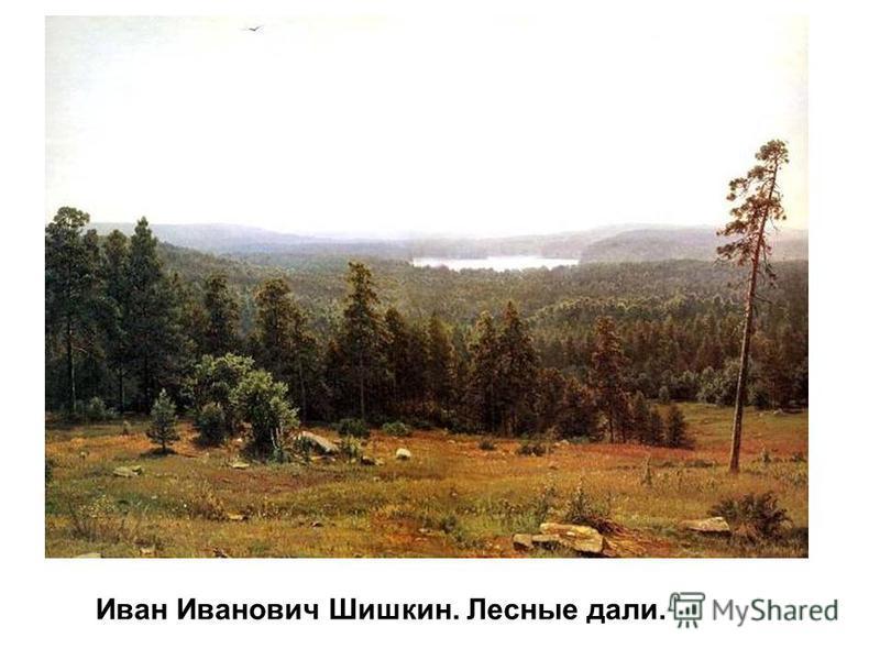 Иван Иванович Шишкин. Лесные дали.