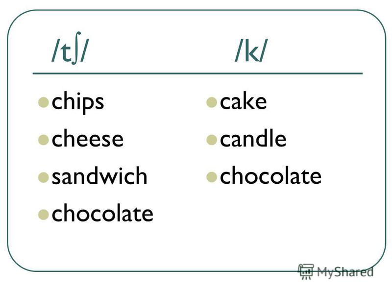 /t/ /k/ chips cheese sandwich chocolate cake candle chocolate