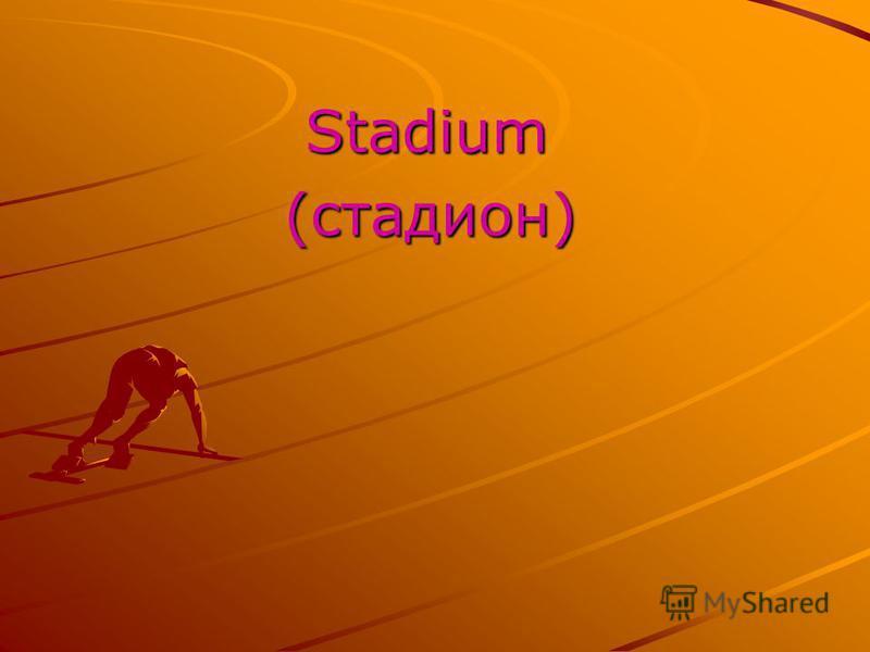 Stadium Stadium (стадион) (стадион)