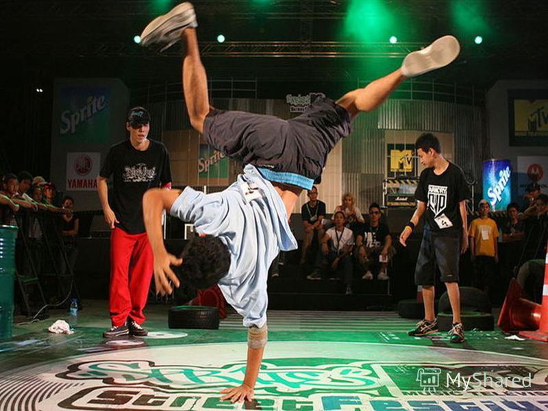 Нижний брейк – это силовой танец, когда все основные элементы выполняются на полу.