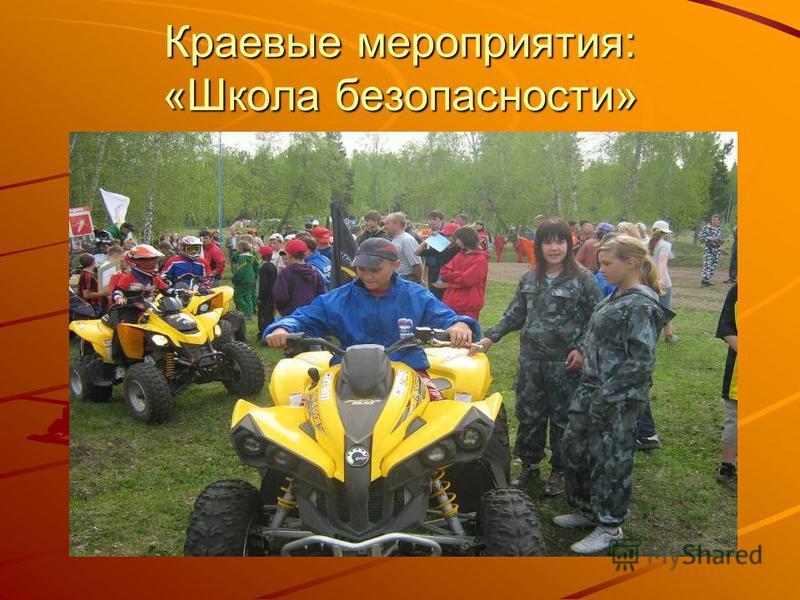 Краевые мероприятия: «Школа безопасности»