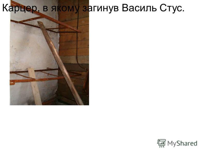Карцер, в якому загинув Василь Стус.