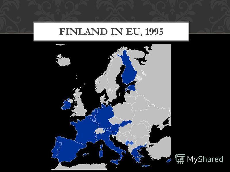 FINLAND IN EU, 1995