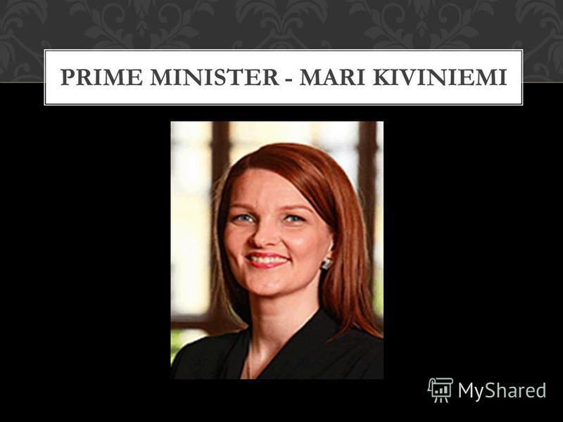 PRIME MINISTER - MARI KIVINIEMI