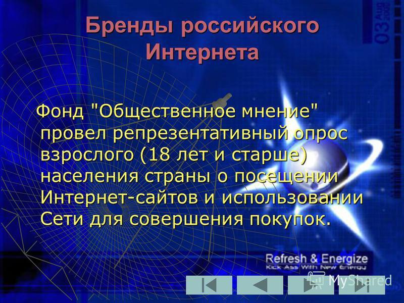 Бренды российского Интернета Фонд