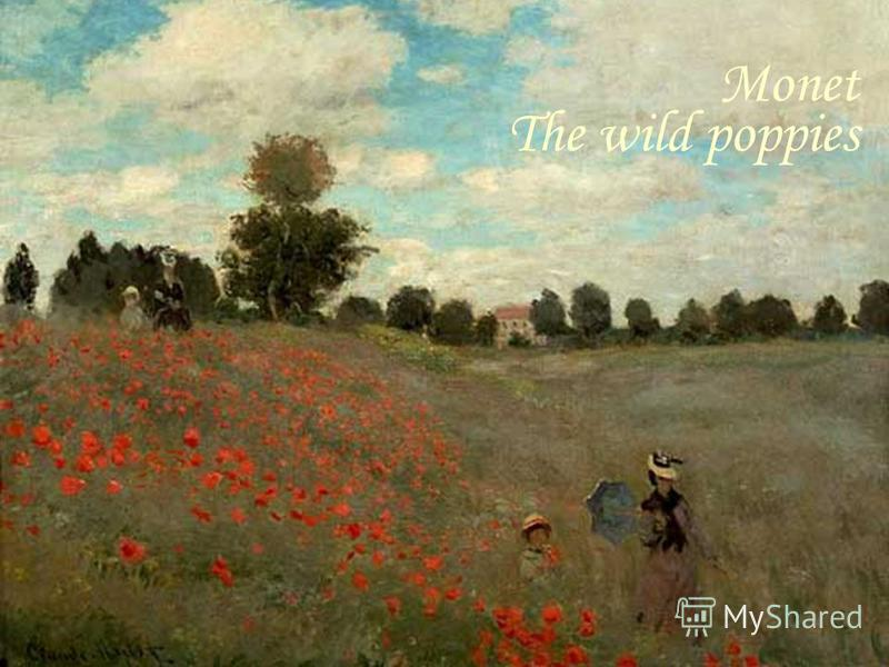 Monet The wild poppies