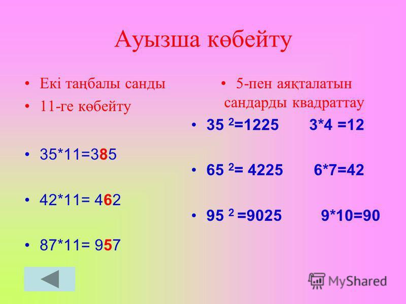 Теңдеу Х 2 =1 X 1 = 1 X 2 =-1 Х 2 =25 X 1 = 5 X 2 =-5