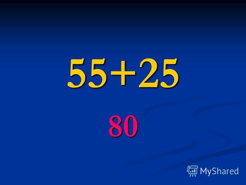 55+25 80