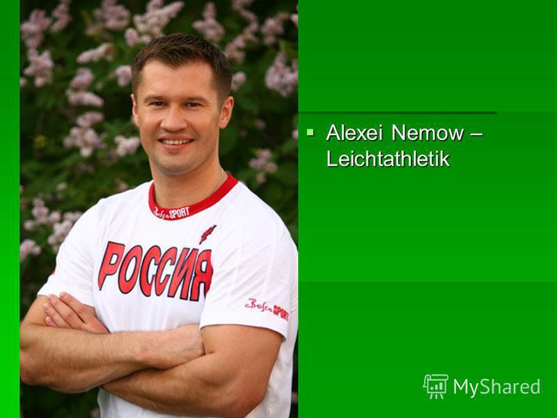 Alexei Nemow – Leichtathletik Alexei Nemow – Leichtathletik