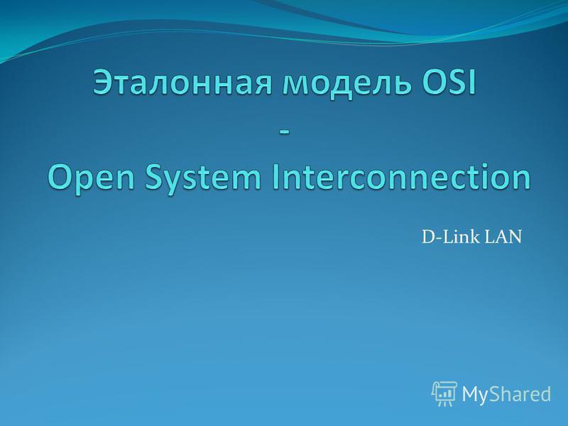 D-Link LAN