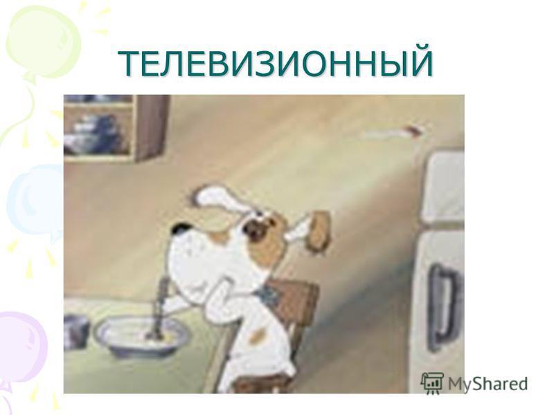 ТЕЛЕВИЗИОННЫЙ