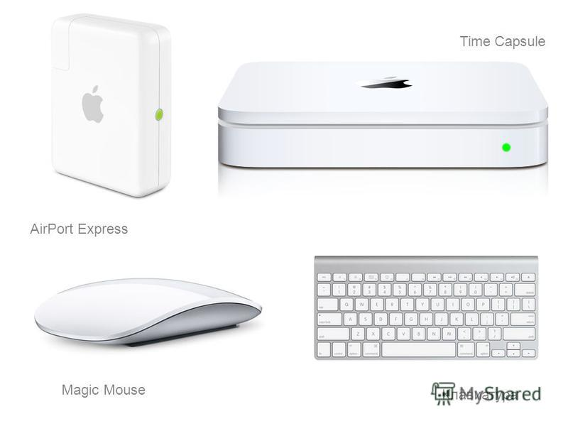 Time Capsule AirPort Express Клавиатура Magic Mouse
