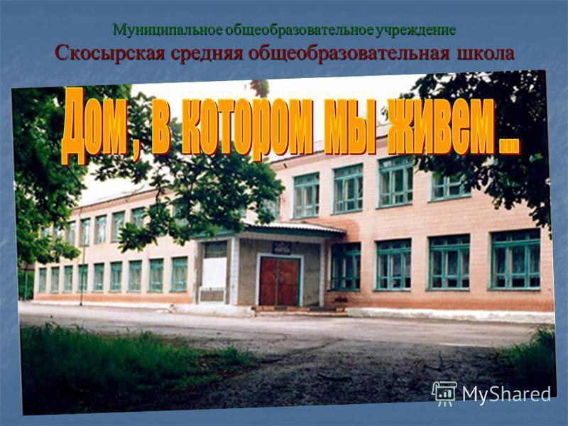 Муниципальное общеобразовательное учреждение Скосырская средняя общеобразовательная школа