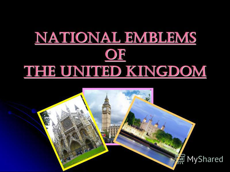 National Emblems of the United Kingdom