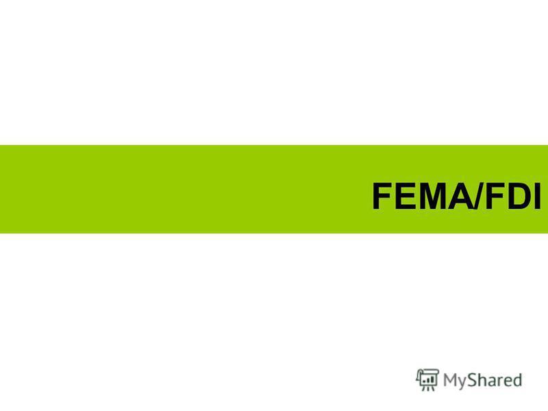 FEMA/FDI