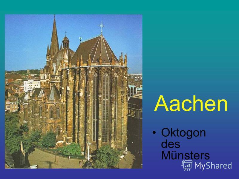 Aachen Oktogon des Münsters