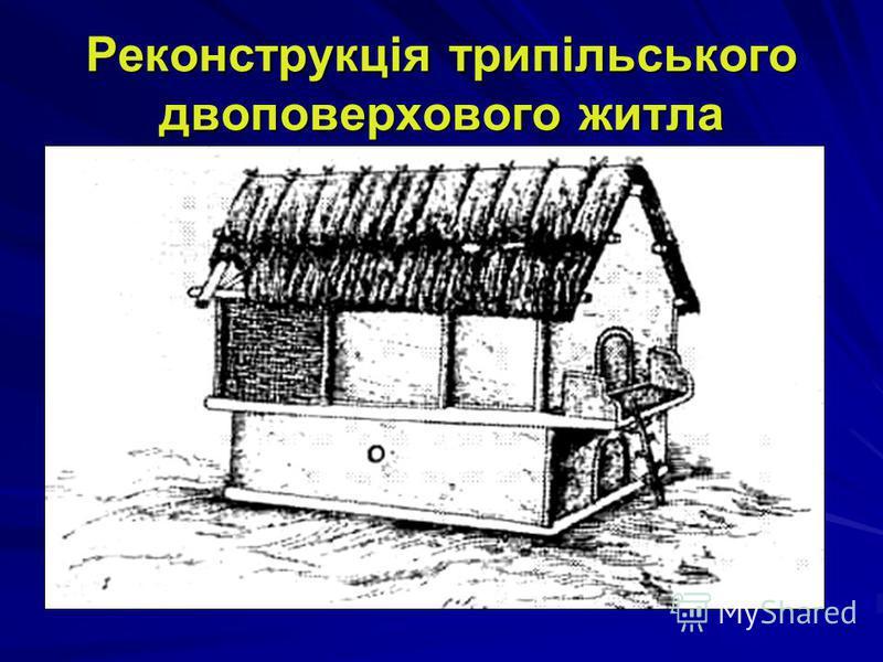 Реконструкція трипільського міста біля с. Майданецьке