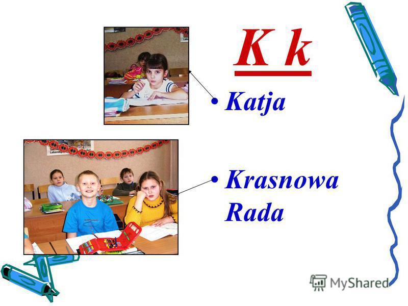 K k Katja Krasnowa Rada