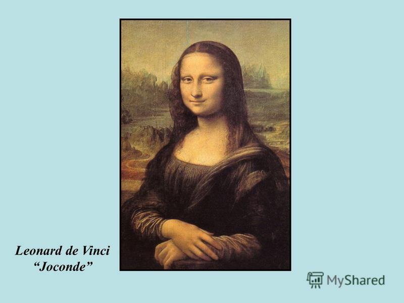 Leonard de Vinci Joconde