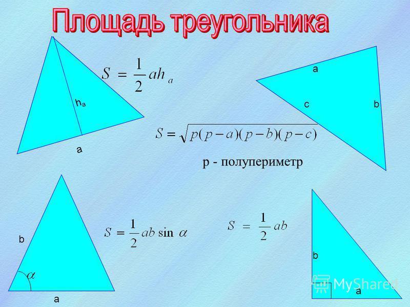 α d 2 d 1 S S b a b b a²a² b²b² a a ( a + b )² = S + S + a² + b². a² + 2ab + b² = 2S + a² + b². S = 2ab