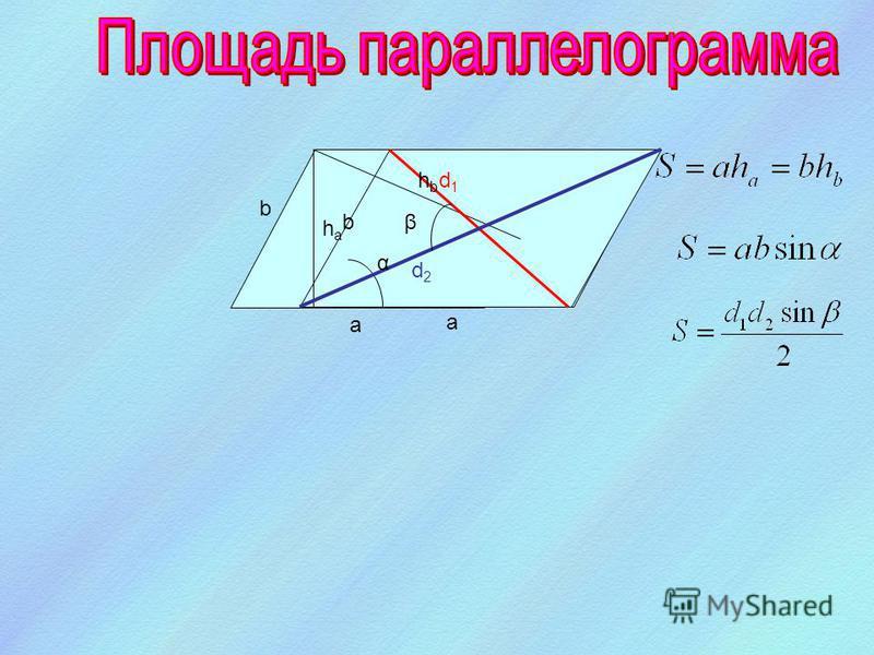 h a a b a b a cb a р - полупериметр