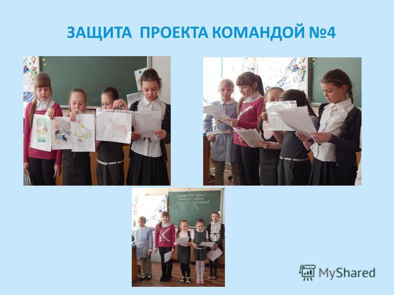 ЗАЩИТА ПРОЕКТА КОМАНДОЙ 4