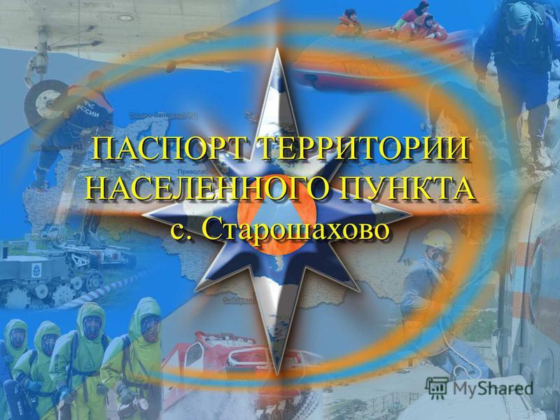 ПАСПОРТ ТЕРРИТОРИИ НАСЕЛЕННОГО ПУНКТА с. Старошахово