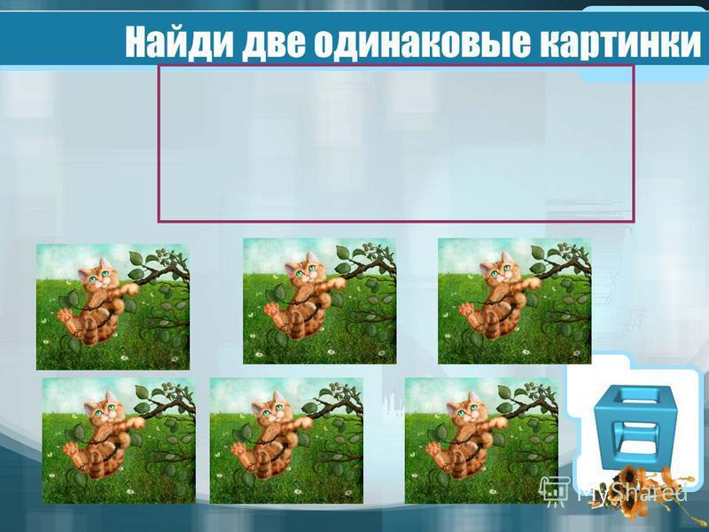 Найди две одинаковые картинки
